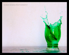 Toxic (Anas Ahmad) Tags: green glass north grn splash ahmad karachi ahmed anas anasahmad anasahmadphotography