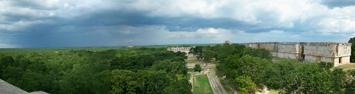 Panorama from the Gran Piramide