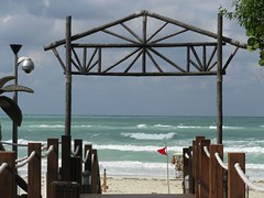 Varadero - View of the Beach from Boardwalk