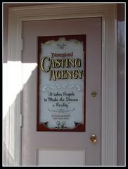 Disneyland's Casting Door