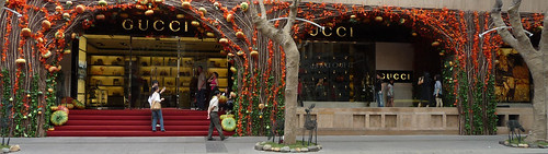 Gucci Saigon at Christmas