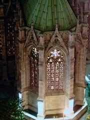 BM096 Saint Patrick's (listentoreason) Tags: newyorkcity sky usa newyork church window architect