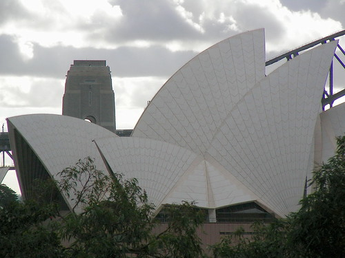 Opera House sobre Harbour Bridge