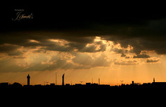 (J E W E L S) Tags: sun clouds muslims  jewels brightness masjid  doha qatar aspire