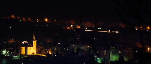 Eglise dans la nuit