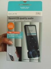 Belkin iTalk Voice Memo Gadget for iPod