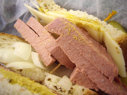 Liverwurst Sandwich from NY Deli