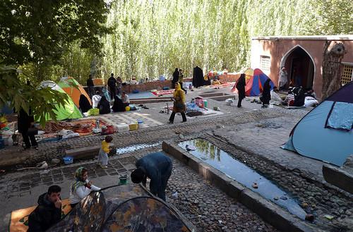 El deporte nacional iraní: el picnic