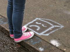 (seaotter22) Tags: sanfrancisco street square shoes sad converse chucks photosafari photojojo photojojophotosafari