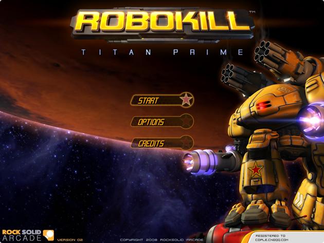 [推荐]武装机器人-RoboKill(杀戮机器)破解版下载