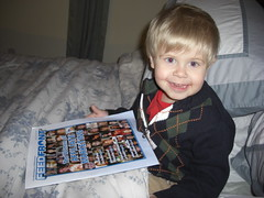 Jack is excited about the new issue of FeedFront Magazine