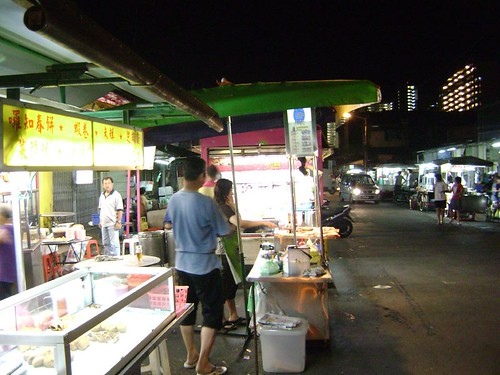 Night food stalls
