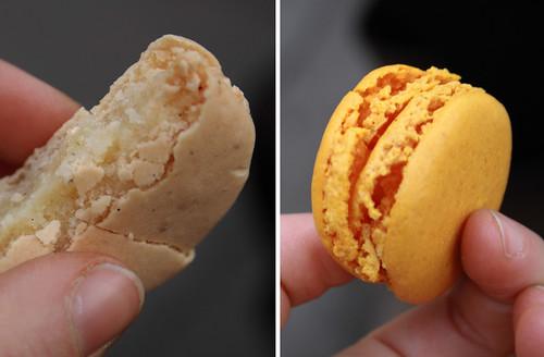 Ladurèe macarons (vanille-fleur d'orange)
