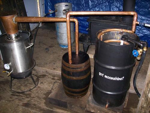 Beer Keg Moonshine Still Plans