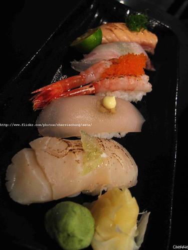 你拍攝的 綜合握壽司。