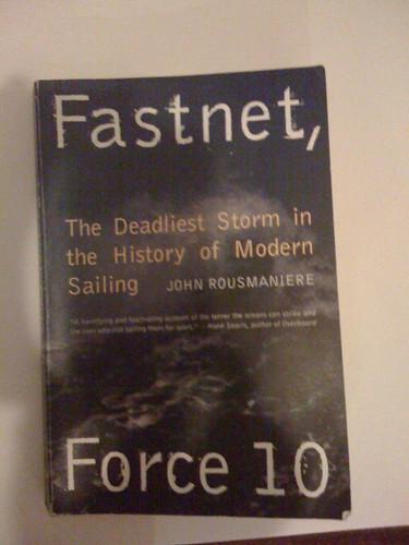 reading sailing books fastnet