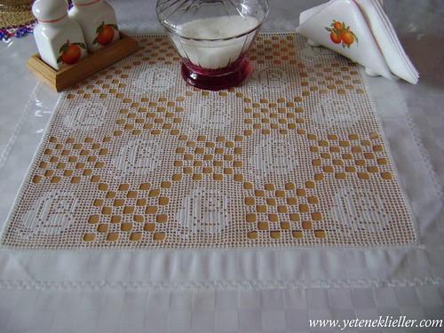 mutfak takımı masa danteli