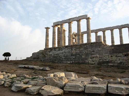 Templo de Poseidón Foto