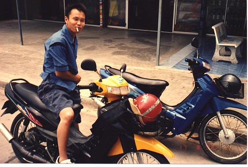 Chiu on the Bike