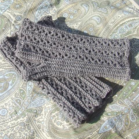 free pattern crochet fingerless - pictures - Bloguez.com