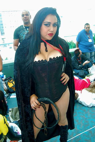 Comic Con 2009: Black Queen