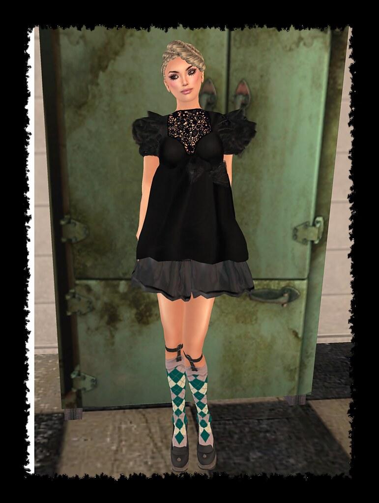 ][AV][dress simple black New Lucky Board