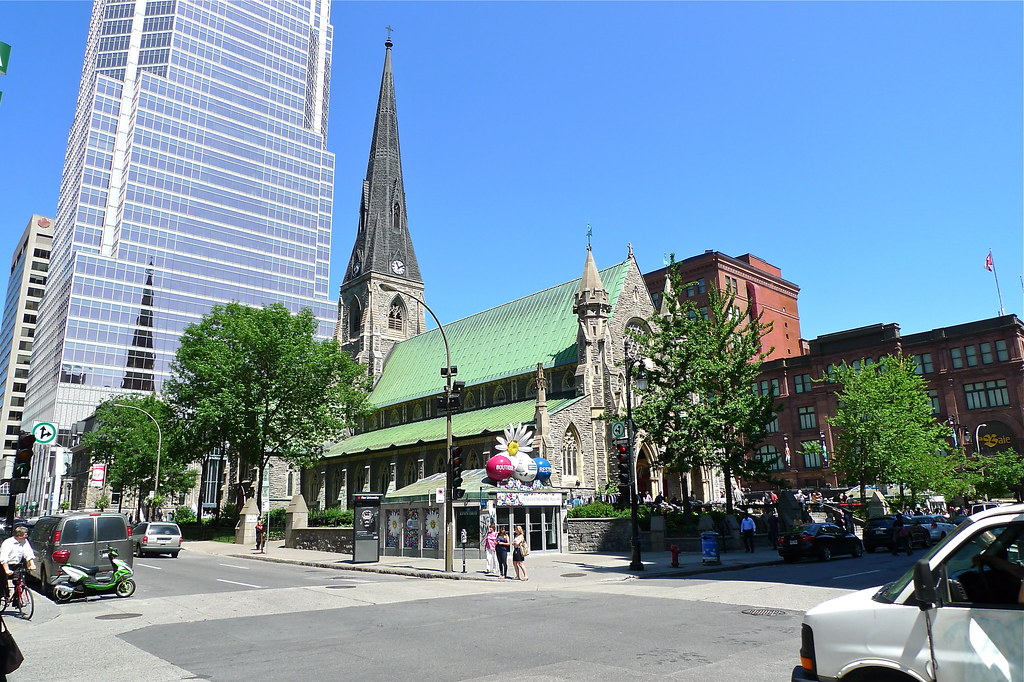 Copyright Photo: Christ Church Cathedral - Montreal 1 by Montreal Photo Daily, on Flickr