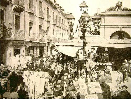 1930. Mercado de San Ildefonso