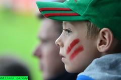 Mayo GAA Football Fan by Alison laredo (alison laredo) Tags: ireland red irish green galway hat fan football cap fans semifinal connaught gaa connaght caslebar mchalepark mchaleroad 26june2011