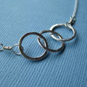 Triple Ring Necklace