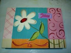 caixa porta jóia (Imer atelie) Tags: verde flor rosa caixa branca moderna pintura mdf lilas colorida jóia atelie imer