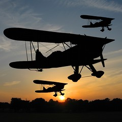 Fly Past (Heaven`s Gate (John)) Tags: sky history topf25 silhouette plane wow airplane flying topf50 topf75 aviation flight dramatic aeroplane dreams imagination topf100 breathtaking biplane topshot 500x500 100faves 50faves 10faves 25faves johndalkin heavensgatejohn wowiekazowie diamondclassphotographer flickrdiamond bratanesque onlythebestare excapture simplysuperb flypastsunset