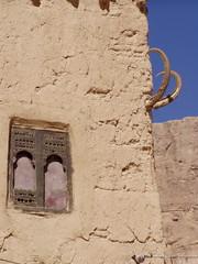 Sif, Wadi Dawan (twiga_swala) Tags: eye architecture buildings town desert mud traditional horns evil charm adobe valley luck vernacular yemen wadi ibex yemeni  jemen dowan  hadhramaut dohan dawan   governorate