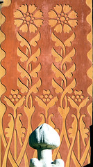 Barcelona - Pg. St. Joan 006 i (Arnim Schulz) Tags: barcelona espaa building art wall architecture pared spain arquitectura pattern arte decorative wand kunst edificio catalonia artnouveau gaud architektur catalunya mur espagne btiment geb