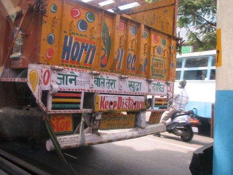 jane wale tere khuda hafiz lorry tumkur road 150308