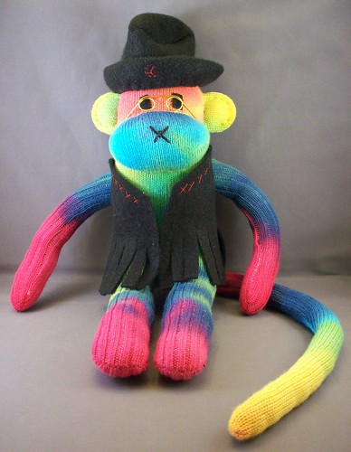 Newest Psychedelic Sock Monkey