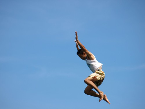Jump into foreign travel-