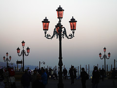 In Search of Light (Sator Arepo) Tags: leica venice light people night dark reflex search streetlight day darkness streetlamp aeneid virgil digilux firstquality nocte mywinners ibant digilux3 50mmmacroed umbram ibantobscurisolasubnocteperumbram obscuri retofz081203