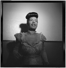 Billie Holiday, 1946-48  | Giants of Jazz Series (Black History Album) Tags: newyorkcity rip jazz ancestor carnegiehall africanamerican ancestors blackhistory billieholiday