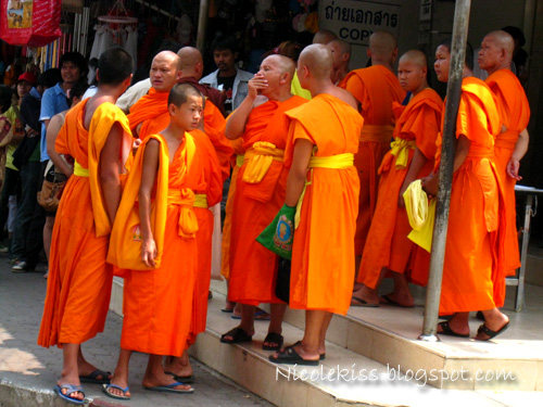 monks crossing to burma