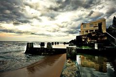 The surf club (matt_robinson) Tags: ocean sea sky reflection beach club landscape nikon surf wide sydney sigma australia wideangle 1020mm coogee d300 platinumphoto wwwmattrobinsonimagescom