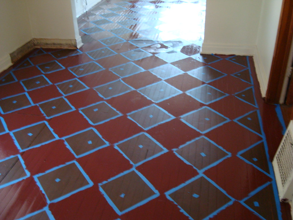 all squares painted