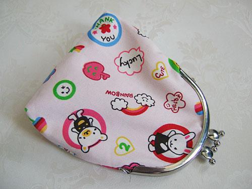 Happy Day clasp purse