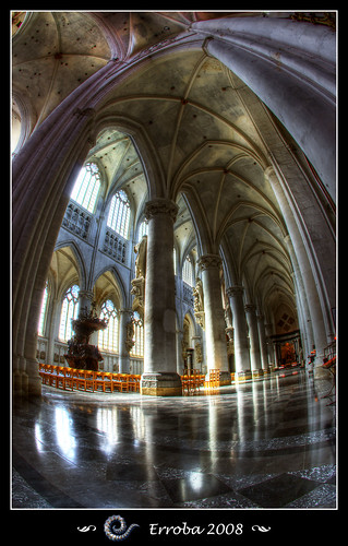 St Rumbolds Cathedral Interior (Fisheye)