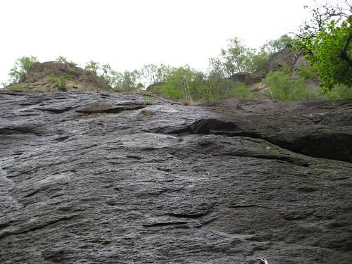 La parete del 1 Salto