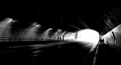 tunnel (telmo32) Tags: sf sanfrancisco california city urban blackandwhite bw monochrome tunnel creativecommons bayarea tunnels stocktonstreet stocktontunnel sfchronicle96hrs mywinners abigfave overtheexcellence overtheshot telmo32