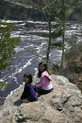 Girls at Minnesota Interstate State Park