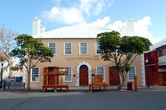 Butterfield Bank, St. George's, Bermuda (bobindrums) Tags: uk greatbritain cruise england english ship britain bank stgeorges stocks cruiseship british bermuda majesty ncl saintgeorges pillory norwegianmajesty butterfieldbank nclmajesty stileshouse