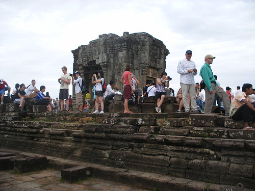 Typical day at Ankor Wat