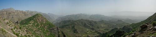 Панарама гор